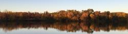 Reflection at Como Lake.